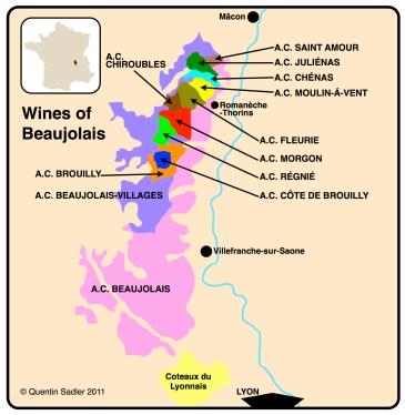 beaujolais map